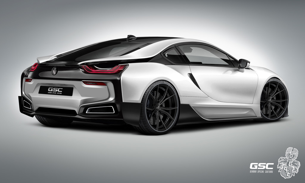 Bmw I8 Kit Designs By German Special Customs