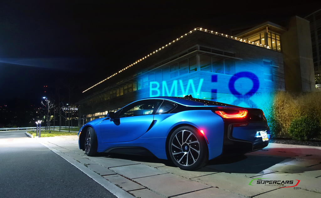 My Protonic Blue I8 W Lamboghini Huracan Sidekick