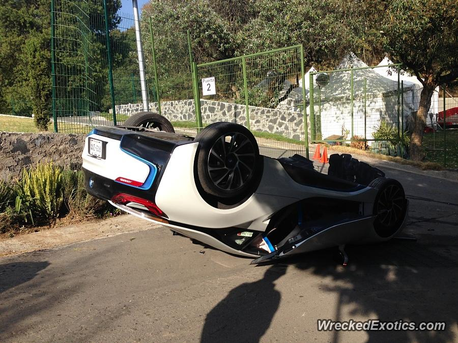 Journalist Flips Bmw I8 During A Test Drive