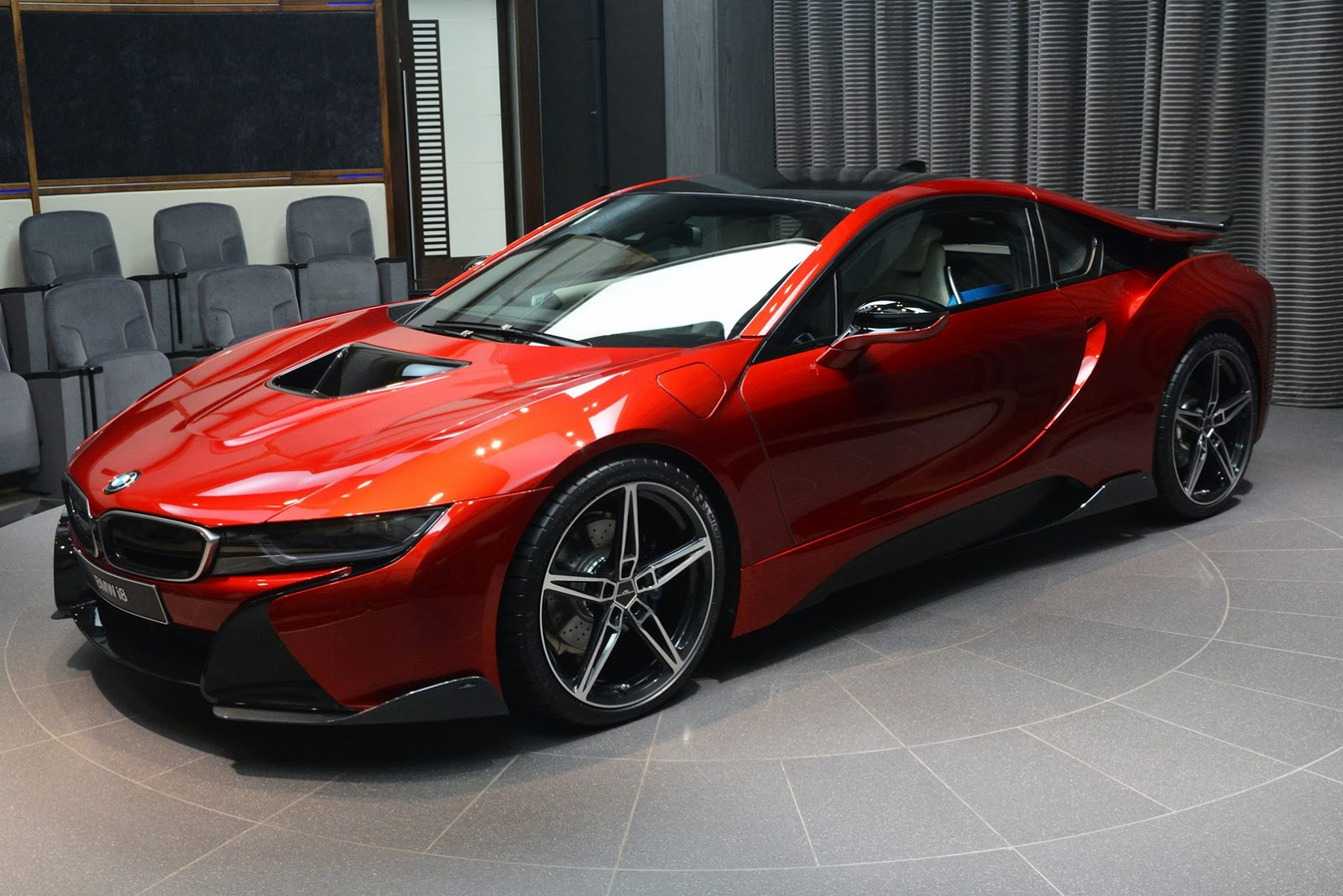 Lava Red I8 With Ac Schnitzer Kit