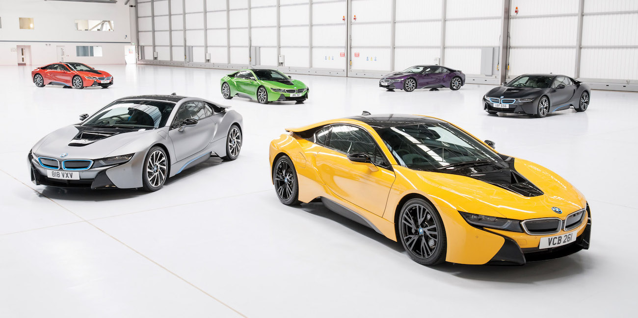 Bmw Kicks Off I8 Individual Paint Program In The Uk