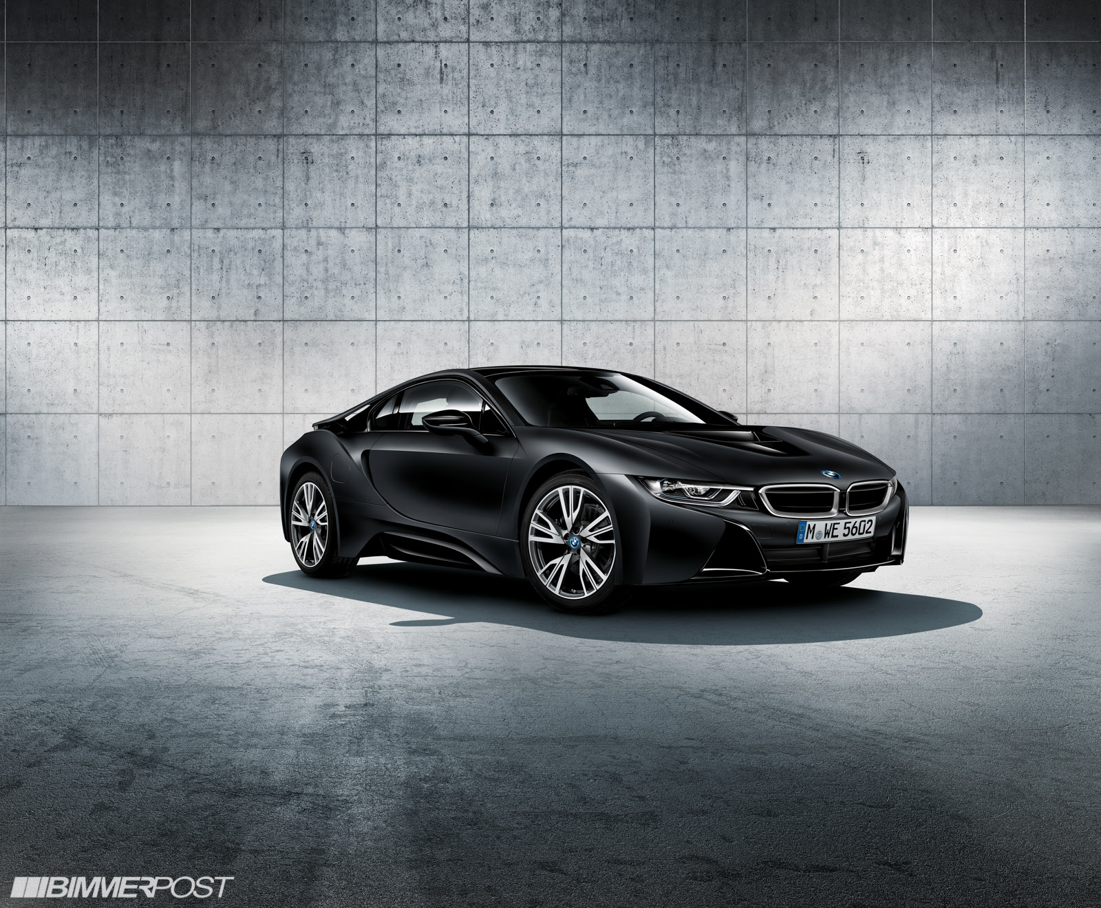 Bmw I8 Protonic Frozen Black Edition And Frozen Yellow Editions Coming
