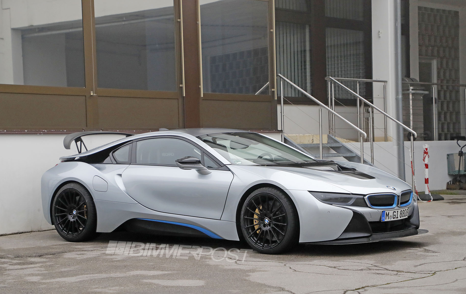 Bmw I8 High Performance Model Spotted At M Headquarters