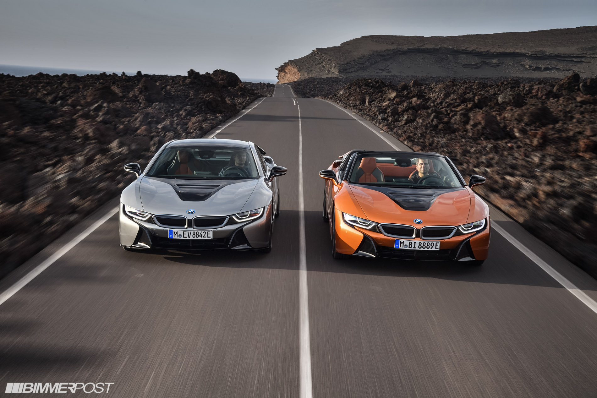 World Debut Of The Bmw I8 Roadster And New 2019 Bmw I8 Coupe