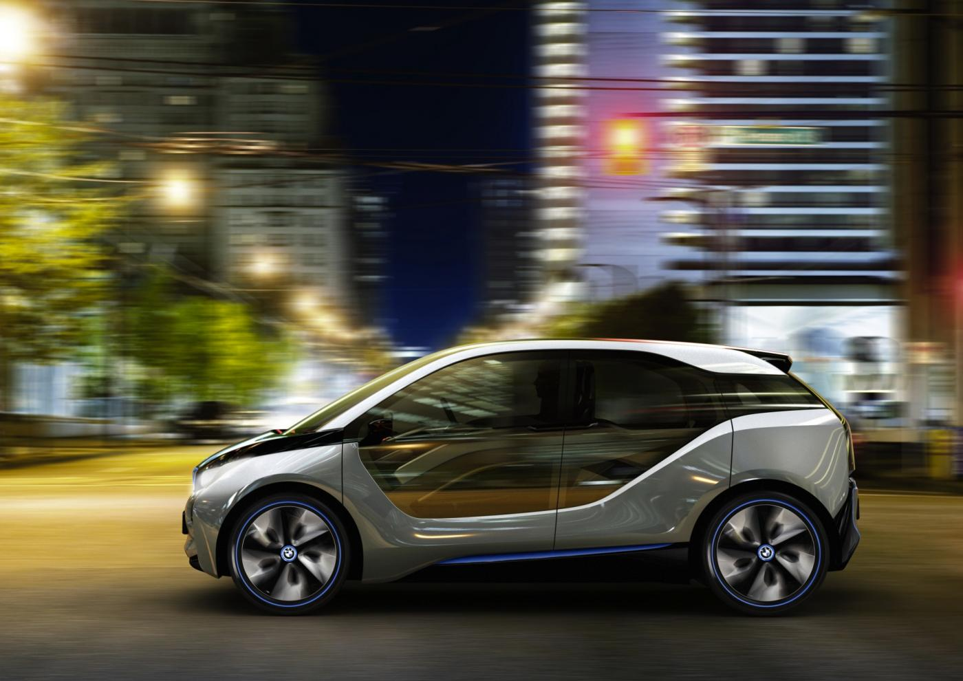 World Debut: BMW i3 Concept Electric Vehicle