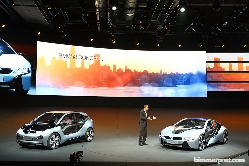 2011 Frankfurt Bmw I8 And I3 Concepts Debut