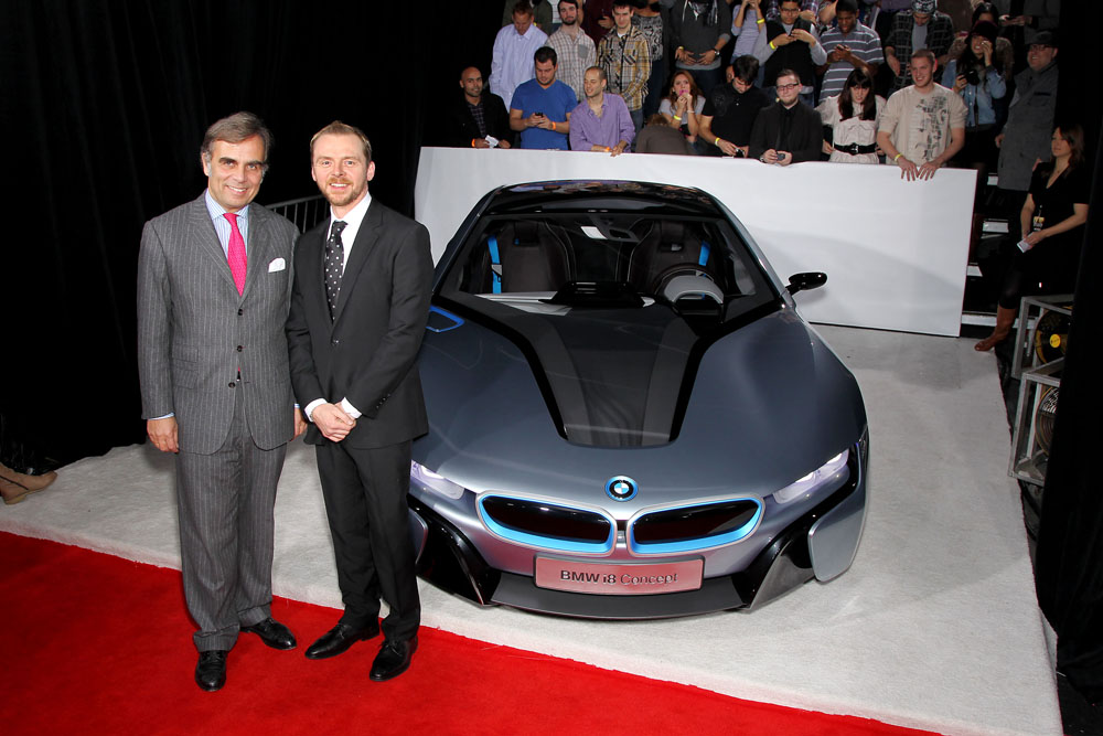 bmw stars at the u s premiere of mi4 ghost protocol in. Black Bedroom Furniture Sets. Home Design Ideas