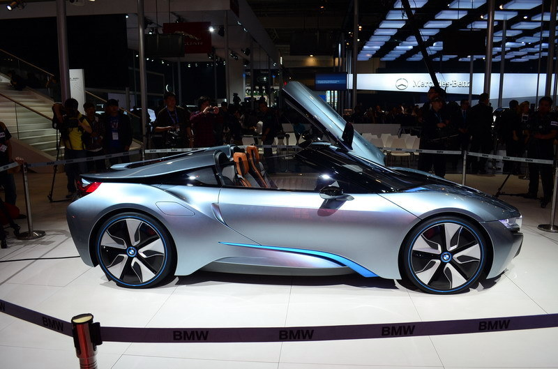 BMW i8 Spyder Concept Debuts in Beijing. eDrive Designation Named