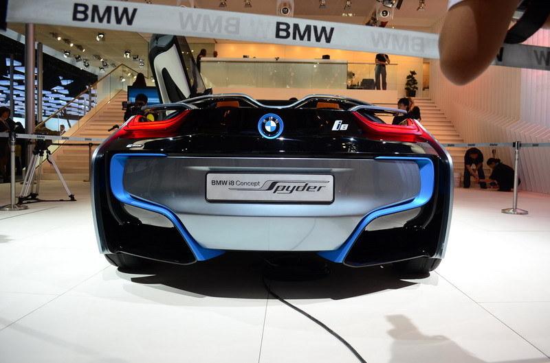 Bmw I8 Spyder Concept Debuts In Beijing Edrive Designation Named