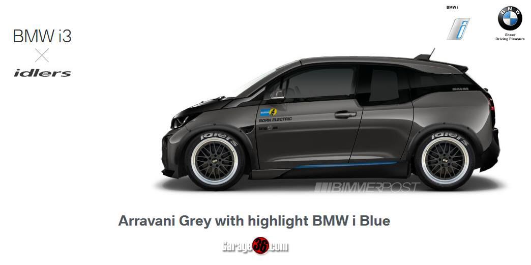 Modified Bmw I3 Photoshop Fiddled