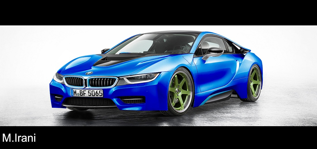 White Blue BMW I8 Are Here Attached Images
