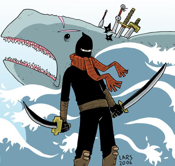 Name:  Shark_VS_Ninja_by_larsony.jpg Views: 694 Size:  167.6 KB
