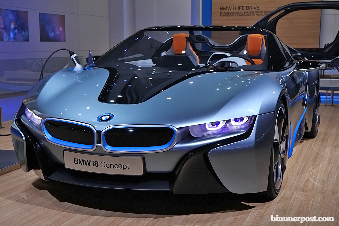Bmw I8 Roadster Wins North American Concept Car Of The Year Award