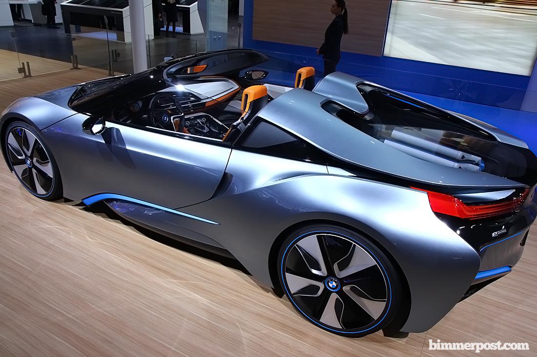 Paris 2012: BMW i8 Spyder Concept