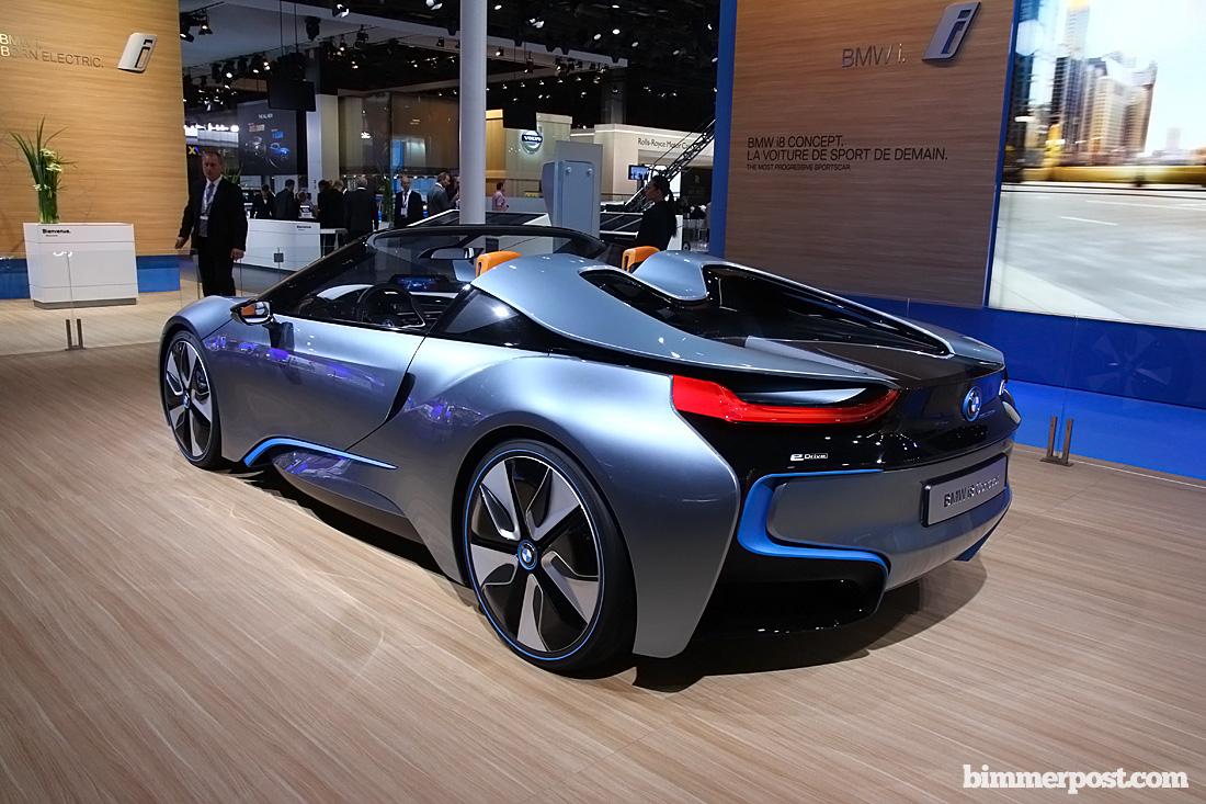Paris 2012 Bmw I8 Spyder Concept