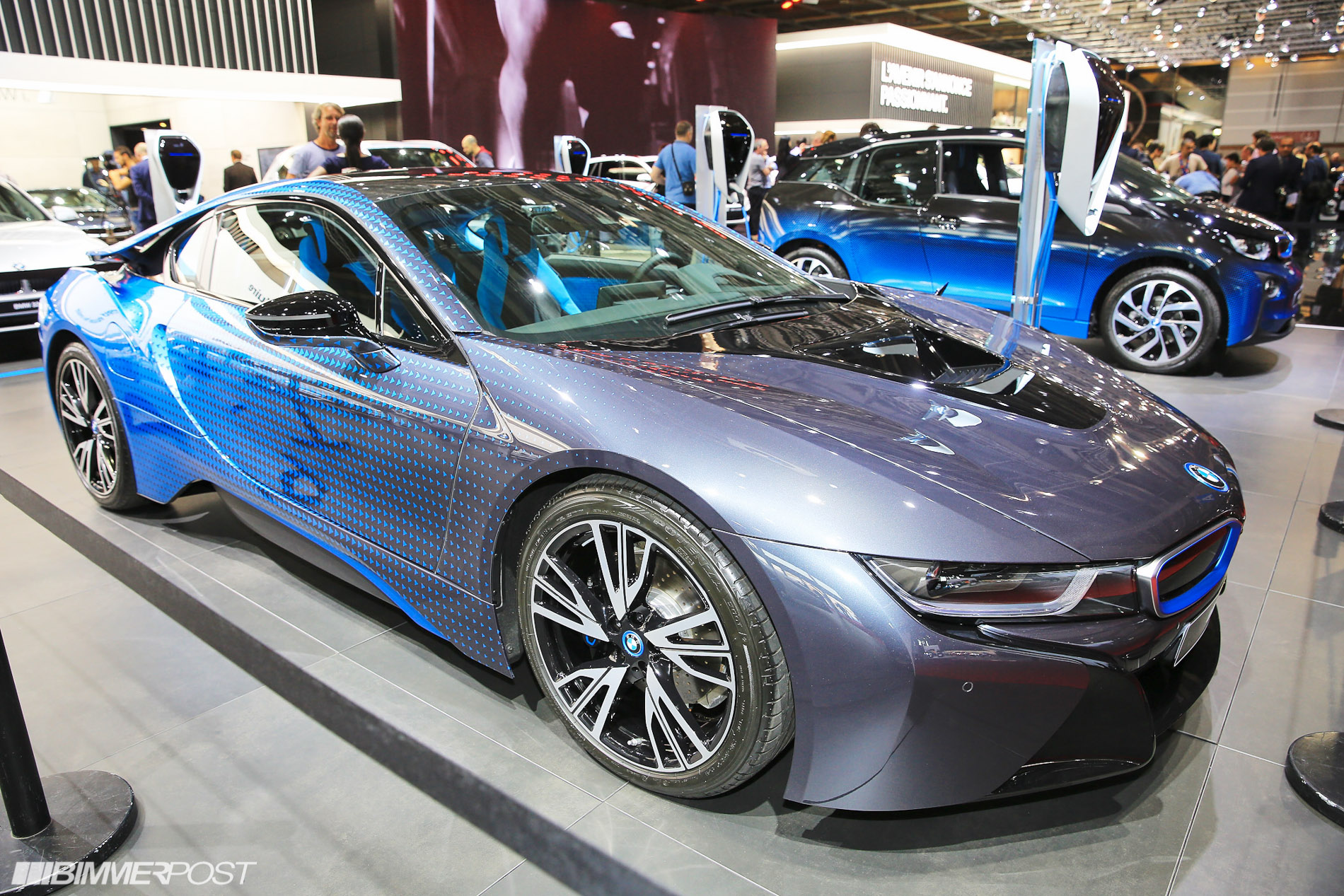 Bmw i8 and i3 garage italia crossfade concepts debut in paris for Garage bmw ivry