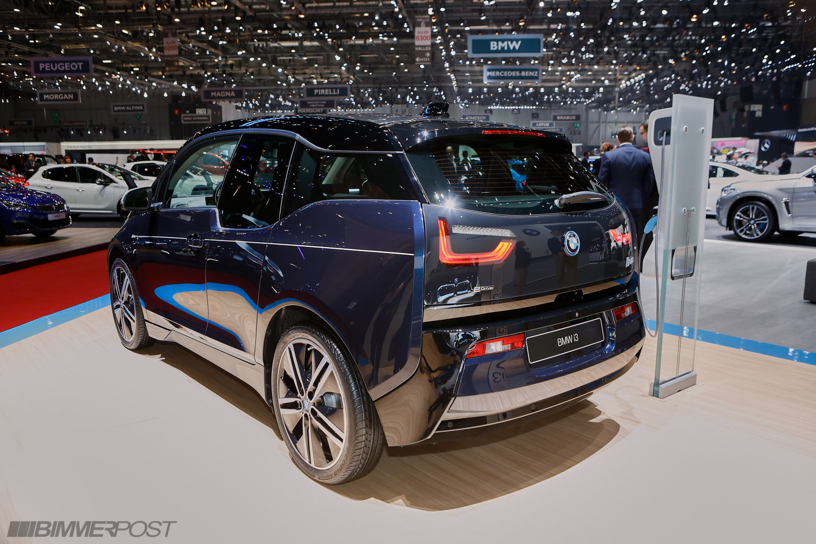 geneva 2016 bmw i3 mr porter edition. Black Bedroom Furniture Sets. Home Design Ideas
