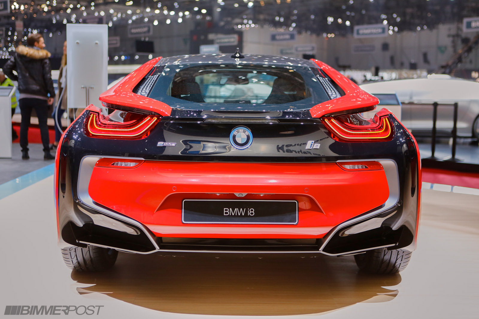 New Limited Edition Bmw I8 Protonic Red Edition W Geneva Auto Show