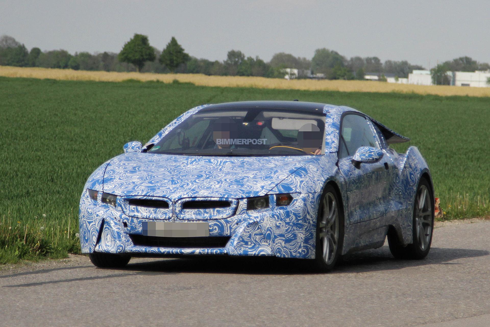 BMW I8 Prototype Renders