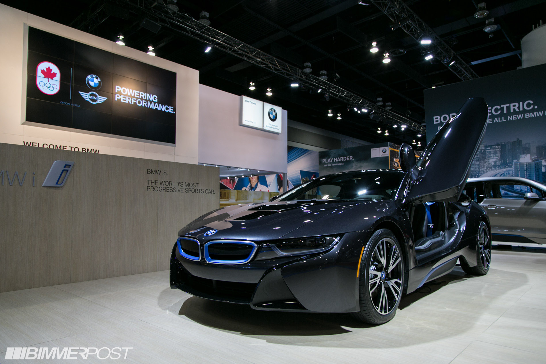 Bmw I8 And I3 At Vancouver Auto Show Pics