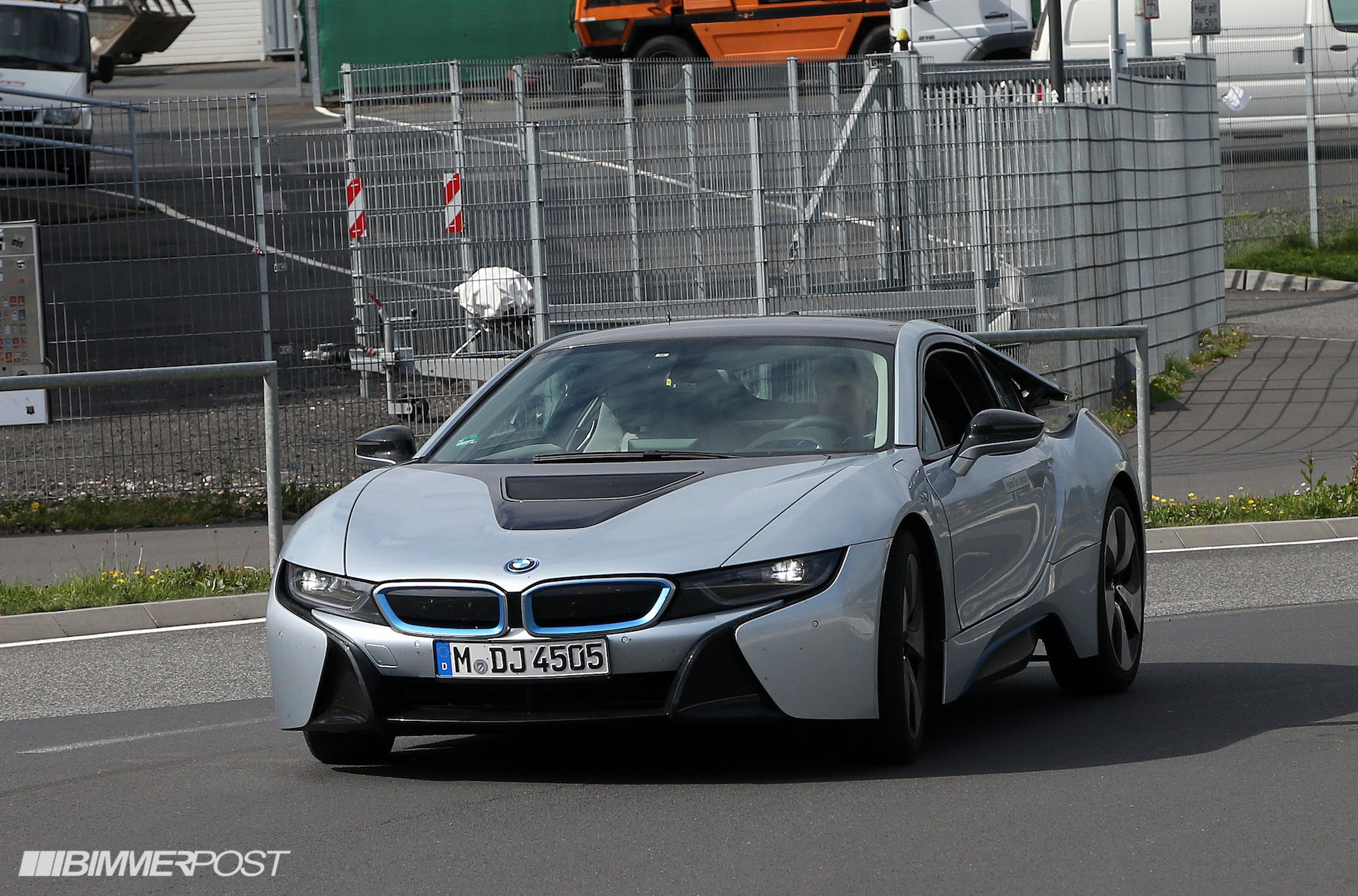 Bmw I8 Models Spotted In The Wild Looking Like Something From The Future